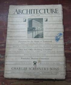 ARCHITECTURE       APRIL  1934