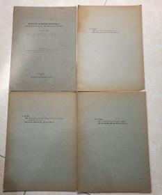 THE STUDY  OF CHINESE SAUSSUREA  等  中国风毛菊属的研究(共6册).
