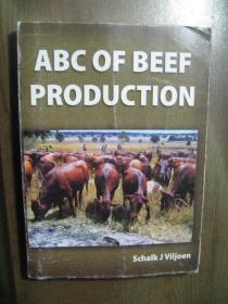 ABC OF BEEF PRODUCTION 牛肉生产ABC