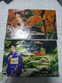 1985年日历卡片
