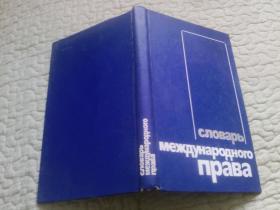 国际法词典 (俄文)