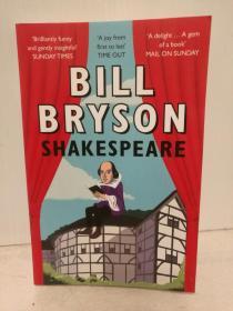 比尔·布莱森:莎士比亚 Shakespare by Bill Bryson 英文原版书
