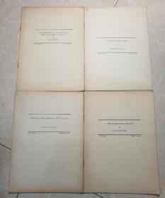 内容为中国动植物研究 1932年 共9册 英文版.