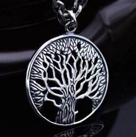 S925希望之树,无花果树吊坠鬼斧神工,技艺精湛可遇不可求的戒指神品值得收藏和佩戴