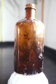 农林部上海病虫药械厂空玻璃瓶