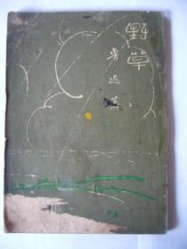 鲁迅的作品:野 草 根据鲁迅全集单行本纸版重印