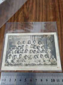 泉州市东北街。民办幼儿园第二届毕业留影1959年8月27日