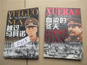 血染的冬天:斯大林格勒大会战+越过马其诺:德军攻击法国  张国浩  著 两本合售