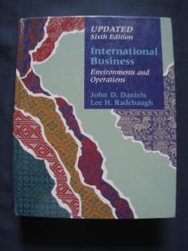 International Business  (6th Edition)(国际商业) 精装 1994年美国出版 英语原版