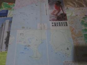 --大连地图:(货号:190606)大连交通游览图1987