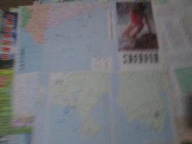 ---大连地图:(货号:190606)大连交通游览图1987