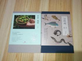 海错图笔记+掌中花园(二册合售)