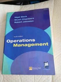 Operations Management【有破损 有划痕 如图所示】