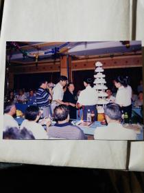老照片一赵贵文教授的生日照片