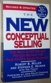 英文原版书 The New Conceptual Selling: The Most Effective and Proven Method for Face-to-Face Sales Planning 平装本