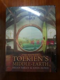托尔金中土地图英版特别版The Maps of Tolkien's Middle-earth