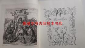 1867年初版著名 KAULBACH (木刻)插图本歌德《列那狐故事》限量原大影印版 Goethe: Reineke Fuchs. Zeichungen v. Wilhelm von Kaulbach