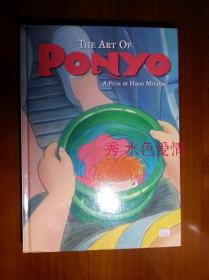 订购The Art of Ponyo 宫崎骏 悬崖上的金鱼姬 英文电影设定集