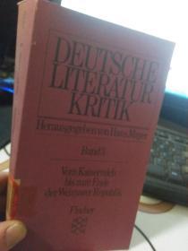 DEUTSCHE LITERATUR KRITIK Band3 2010