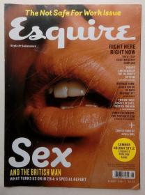 英文原版期刊《Esquire》2014年第8期SEX专号又名《时尚先生》