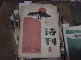 诗刊1985-6[6A2158]