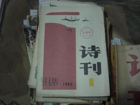 诗刊1985-1[6A2160]