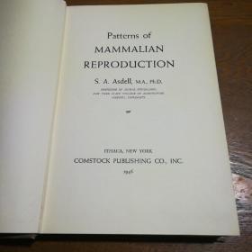 PATTERNS OF MAMMALIAN REPRODUCTION