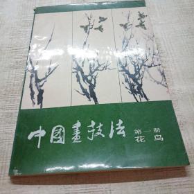 中国画技法   第一册   (花鸟)