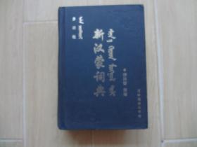 多功能新汉蒙词典 (书内有少量水印)