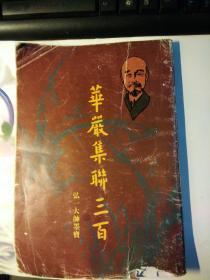 华严集联三百(弘一大师墨宝)