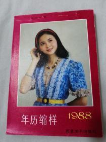 年历缩样1988