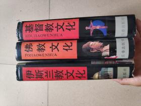 世界三大宗教文化博览:佛教文化、基督教文化、伊斯兰教文化,三本合售