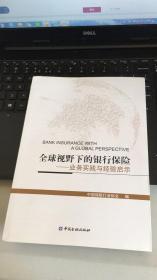 全球视野下的银行保险——业务实践与经验启示 【小16开】