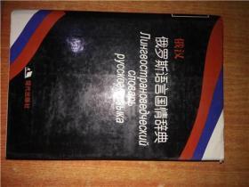 俄汉 俄罗斯语言国情辞典 精装