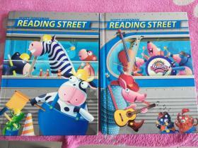 SCOTT  FORESMAN  READING  STREET【  3,5两本合售】