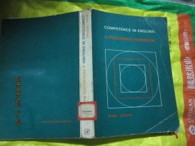 COMPETENCE IN ENGLISH: A PROGRAMED HANDBOOK