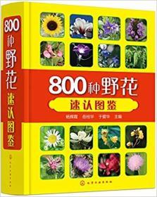 800种野花速认图鉴(塑封未拆)