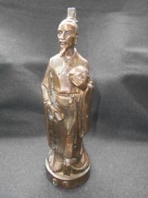 现代雕塑【张衡,铜像】高26厘米