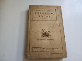 REINALDO SOLAR 【外文书看图】