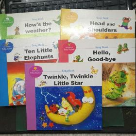 【5本合售 包邮】Fun Happy Talky English song book(快乐英语点读教材)