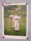 油画印刷品    画一张  53*38厘米 人民美术出版社出版  1978年8月第一版
