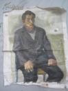 布制  人物  油画一幅  78*60厘米