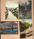 【316309】一组拍摄于上海的彩照明信片 一组8张图片 拍摄年代不详