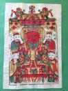 英国回流,孤本,《清代木板年画--至圣宗师》