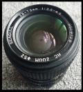 135老式相机单反近拍镜头___20-70__完好品,带滤色镜