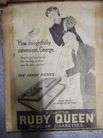 补图3。。稀见民国8开黑白香烟广告116张。一册。。是研究香烟商标得绝好资料.。。补图7