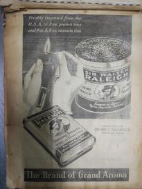 补图7。稀见民国8开黑白香烟广告116张。一册。。是研究香烟商标得绝好资料.。。补图2