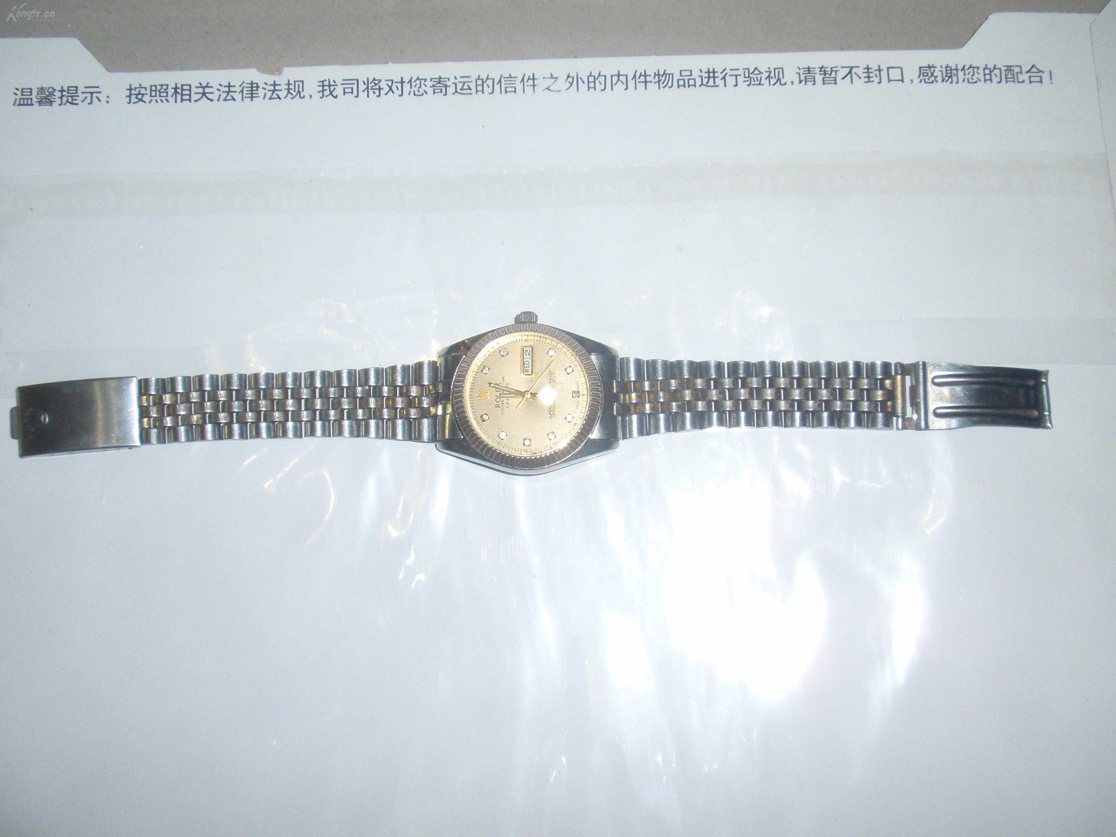仿劳力士男式双历全自动机械手表(拍29)