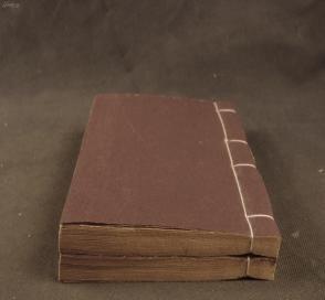 """民国精刻本【相山居士词】二册全,""""归去画楼烟暝晚。步拾梅英,点缀宫妆面。美目碧长眉翠浅。消魂正值回头看。""""精美诗词实属罕见 。纸墨俱佳,为收藏阅读之佳品。"""