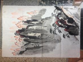 《悬崖峻峰》--原画